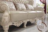 Il tasto reale del salone ha trapuntato l'insieme di cuoio del sofà