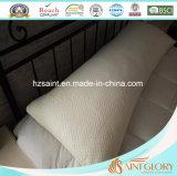 Almohadilla destrozada llenada espuma superior de la espuma de la memoria con la cubierta de bambú Zippered