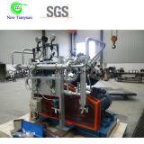 compresor de impulso de la membrana del gas del argón de la presión de gas 0.05-1.3MPa