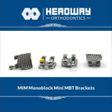 Monoblock Mbtの歯科金属の波カッコの中国の製造者