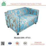 Sofà sezionale di disegno del tessuto classico superiore del salone