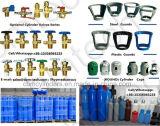 Bombole per gas del CO2 dell'elio dell'argon dell'idrogeno dell'ossigeno dell'acciaio senza giunte (en ISO9809 /GB5099)
