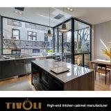 아파트 프로젝트 Tivo-0132h를 위한 색칠 부엌 찬장 Cusotm 디자인