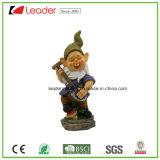 Resina de alta qualidade Jardim Gnome Figurine com regador para casa e decoração exterior