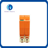 번개 프로텍터 DIN 가로장 임명 전류 파동 피뢰기