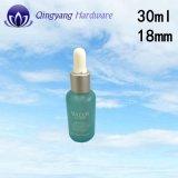 18 mm / 400 cuentagotas de aluminio Caps de 30ml Botella de aceite esencial