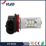 H11 H9 H8 LED Fog Light 80W 800 Lumen Factory Price Fog Light Bulbs