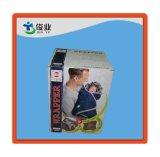 Rectángulo mate de encargo del anuncio publicitario de la cartulina del color de la venta caliente, rectángulo de envío de Kraft
