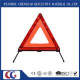 Треугольник высокого рефлектора безопасности видимости предупреждающий для аварийной ситуации автомобиля