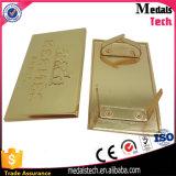 Zink-Legierungs-Gussteil-Firmenzeichen-Metall Aameplate für Beutel
