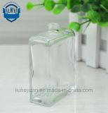 бутылка дух высокой ранга 55ml бессвинцовая ясная прямоугольная стеклянная