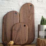 Доски изготовленный на заказ Handmade твердого грецкого ореха деревянные прерывая