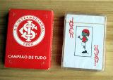 Cartões de jogo plásticos novos do PVC de 100% para Corinthians do clube de Brasil Footbal
