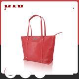 Sacchetto di Tote Multi-Intascato rosso del sacchetto di cuoio del sacchetto delle signore per lo scomparto