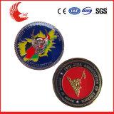 Messingmaterial, das doppelte mit Seiten versehene Entwurfs-kundenspezifische Metallmünzen stempelt