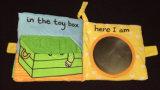 Libro educativo de la felpa de los niños lindos del bebé