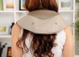 Al tocar el hombro de calentamiento para amasar y el cuello de la correa de masaje