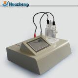 Índice de água manual no verificador Karl culombiométrico Fischer Titrator do petróleo