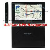 """4.3"""" Camión Vehículo de navegador GPS portátil GPS PDA con 480 * 272 el panel de tacto 2016 del mapa de IGO, Navitel Mapa con cámara de la velocidad, la leva trasera de aparcamiento"""
