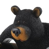 Whosale Custom Resin Big Bear Wine Holder para Home Deco