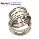 Edelstahl-und Aluminium-Präzision maschinell bearbeiteter Teil-Hersteller China