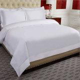 エジプト綿の白い寝具の一定の贅沢な綿繻子の羽毛布団カバー