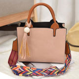 Designer Woman Handbags Bolsas de ombro Bolsas Laies Moda moda colorida com acessórios Tassel Sy7888