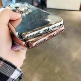 Stylish Glitter Powder TPU Phone Case com Spinning Rudder
