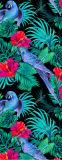 2017 het Volledige Kleur Afgedrukte Embleem van de Douane van de Mat van de Yoga van het Natuurlijke Rubber van het Suède Microfiber