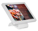 Plancher LCD 12,1 pouces écran tactile interactif de signalisation numérique permanent Kiosque de moniteur