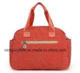 Maman simple en nylon imperméable à l'eau Handbag (CY3665) de momie de messager de Crossbody d'épaule