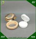 Runder kompakter Puderbb-Luftpolster-kosmetischer Sahnekasten-Verfassungs-Behälter