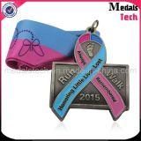 Die Cast Antique Finish Custom Metal Cute Running Kids Medals