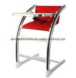 큰 접시를 가진 조정가능한 아기 의자