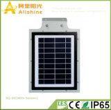 lampe solaire du réverbère d'épargnant d'énergie de l'éclat 5W DEL