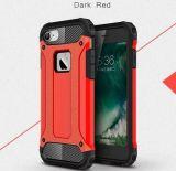 Couverture de caisse d'accessoires de téléphone mobile pour l'armure de l'iPhone 7 lourde
