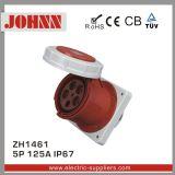 IP67 5p 125A embase à montage panneau droit