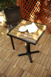 Mattonelle di legno di collegamento del sughero di DIY dell'abete esterno della pavimentazione