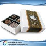 Boîte de empaquetage de Valentine de cadeau de bijou à chocolat de luxe de sucrerie (XC-fbc-020)
