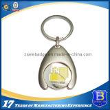 Trousseau de clés fait sur commande de support de pièce de monnaie (ele-TC005)
