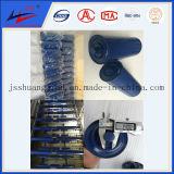 El carbón de la marca de flecha doble Bulk Handling rodillo transportador de correa