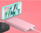 チーのプラスiPhone 6のためのバックアップ電池との無線充電器の例