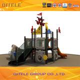 Colorido Private Ship Tema niños al aire libre Juguetes patio de recreo con diapositivas