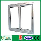 Preço barato de janelas deslizantes de alumínio com tela Pnoc0025slw