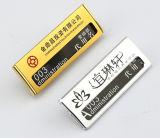Алюминиевая работая нагрудная планка с фамилией участника работника Pin карточки комода