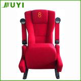 Preiswerte Plastikvortrag-Stuhl-Becherhalter-Auditoriums-Lagerung des kino-Jy-614