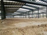 Costruzione d'acciaio prefabbricata per il magazzino del workshop