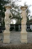 Colonna di marmo Mcol-030 della colonna della colonna statuaria di pietra della colonna di marmo