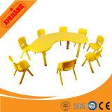 Le mobilier scolaire de haute qualité Moon-Shape Tableau pour les enfants