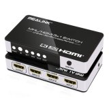 Commutateur de Mhl HDMI 3X1 (support 4K, IR, à télécommande)